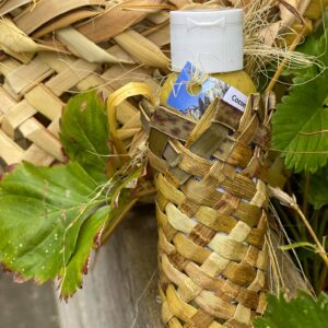 Harakeke Balm With a Small Kete (basket)